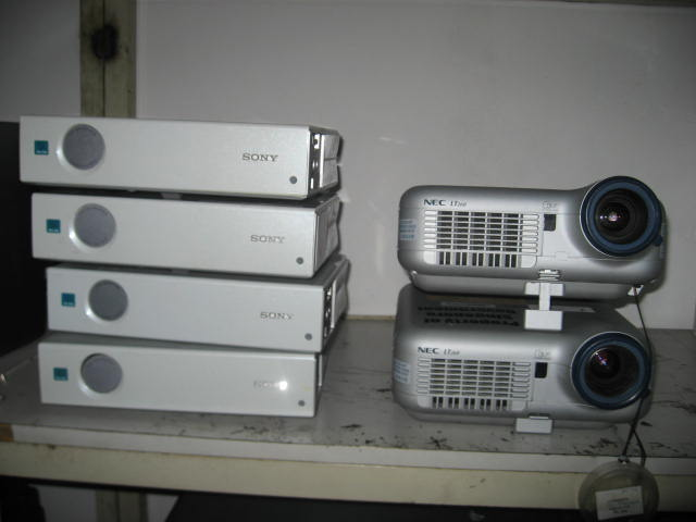 FOR SALE: NEC & SONY LCD PROJECTOR !!