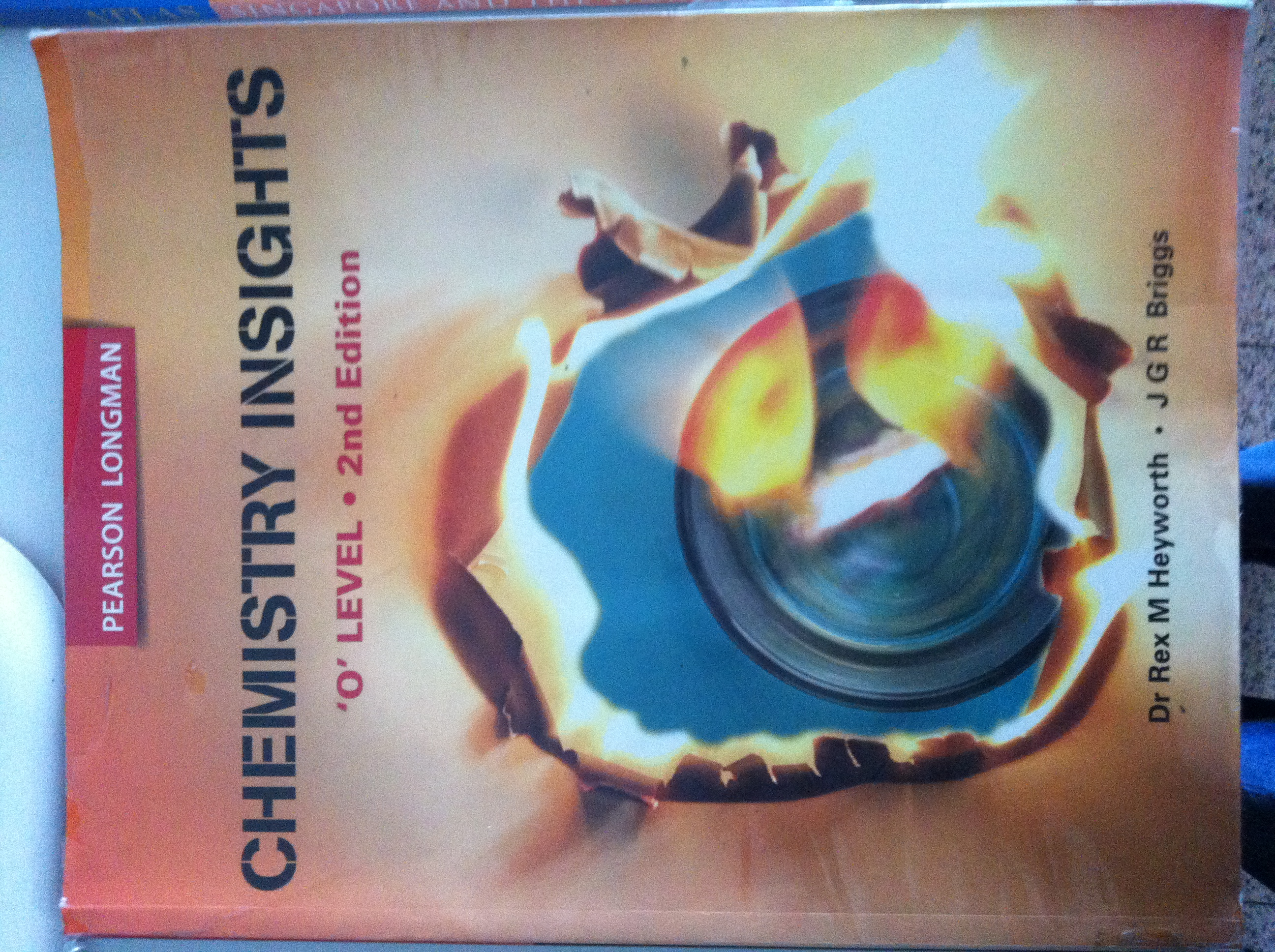 FOR SALE: Chemistry Insights O Level 2nd Edition for sale