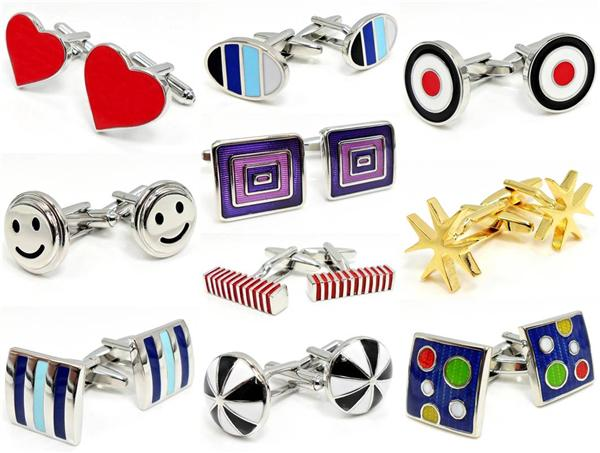 FOR SALE: Classic & Novelty Cufflinks to stand out from the crowd~!