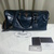 FOR SALE: Authentic PRADA FULL leather blue gloss sling bag(9.5/10) $1,100 hp:90050134