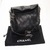 FOR SALE: Chanel Black Quilted Lambskin Leather Small Ultimate Soft Bag