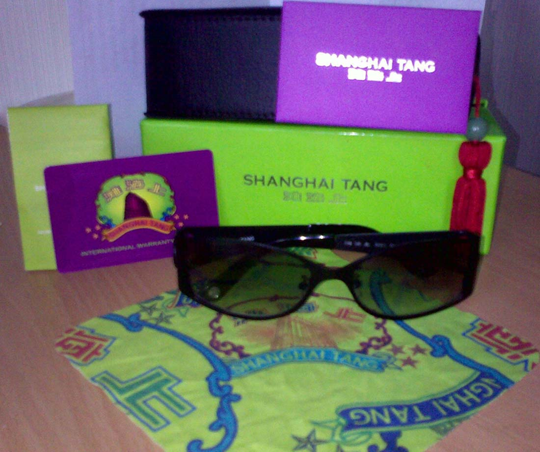 FOR SALE: Shanghai Tang Sunglasses for Sale