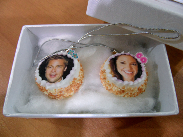 FOR SALE: Miniature Clay Celebrity Cake (Made of Clay)