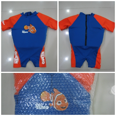 FOR SALE: E Z Swim Floatsuit Disney Finding Nemo (use less than 5 times)