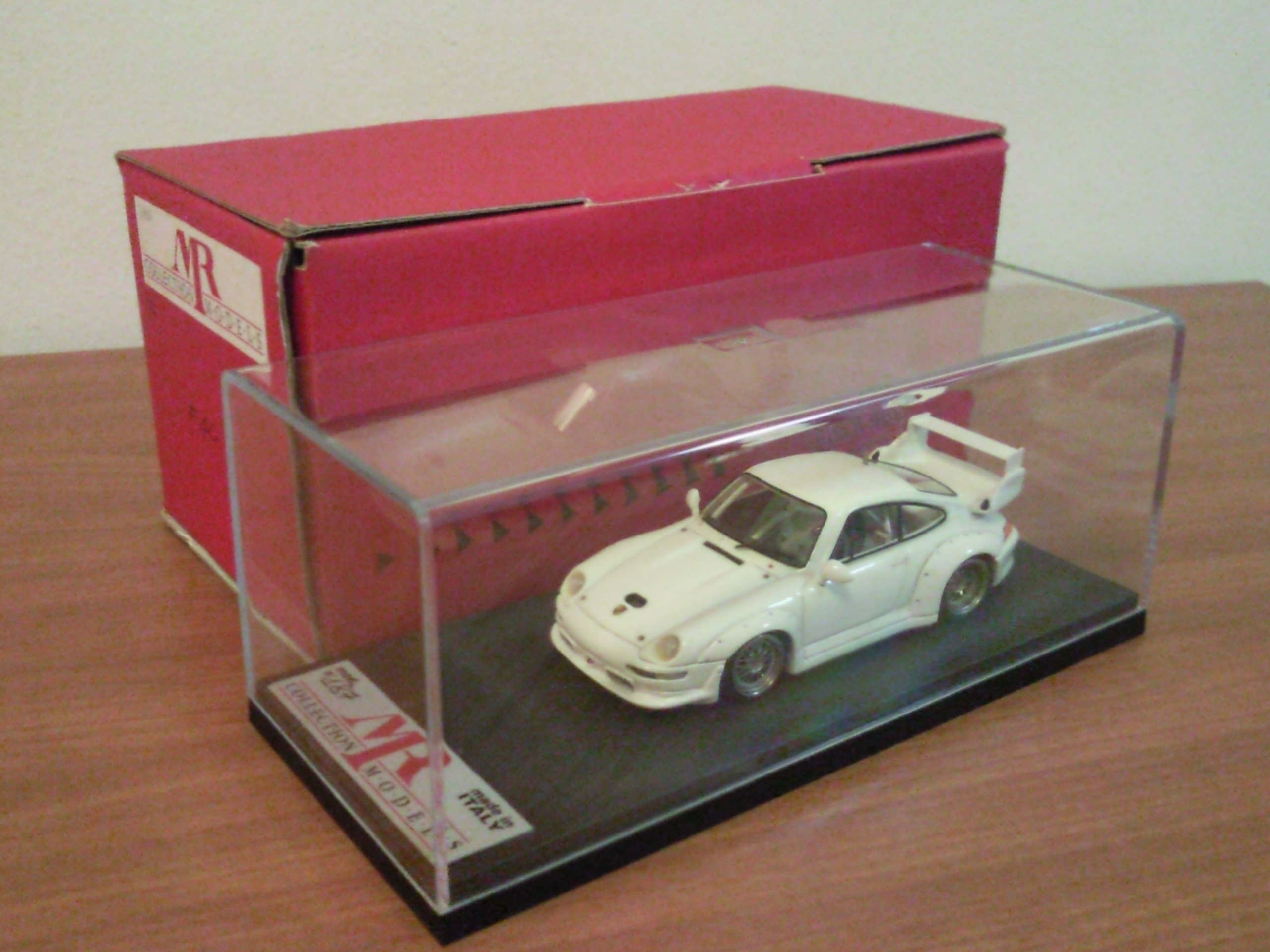 FOR SALE: PORSCHE DIECAST SCALE 1/43 MODEL CAR BY M.R