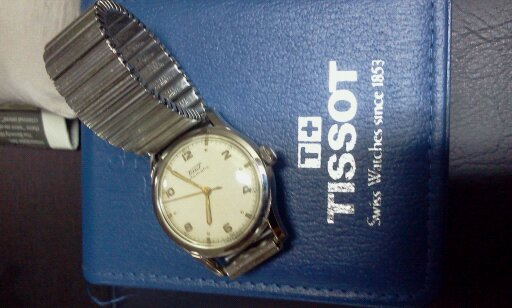 FOR SALE: VINTAGE TISSOT AUTOMATIC WATCH 1950's