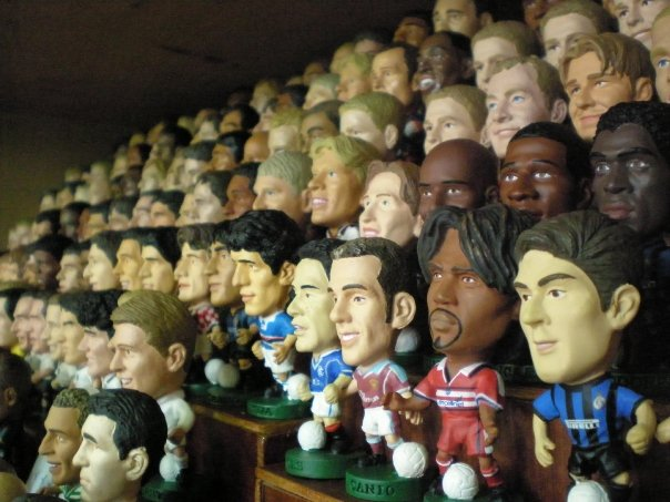 FOR SALE: FOR SALE: Soccer Figurines (PROSTARS) for sale !~