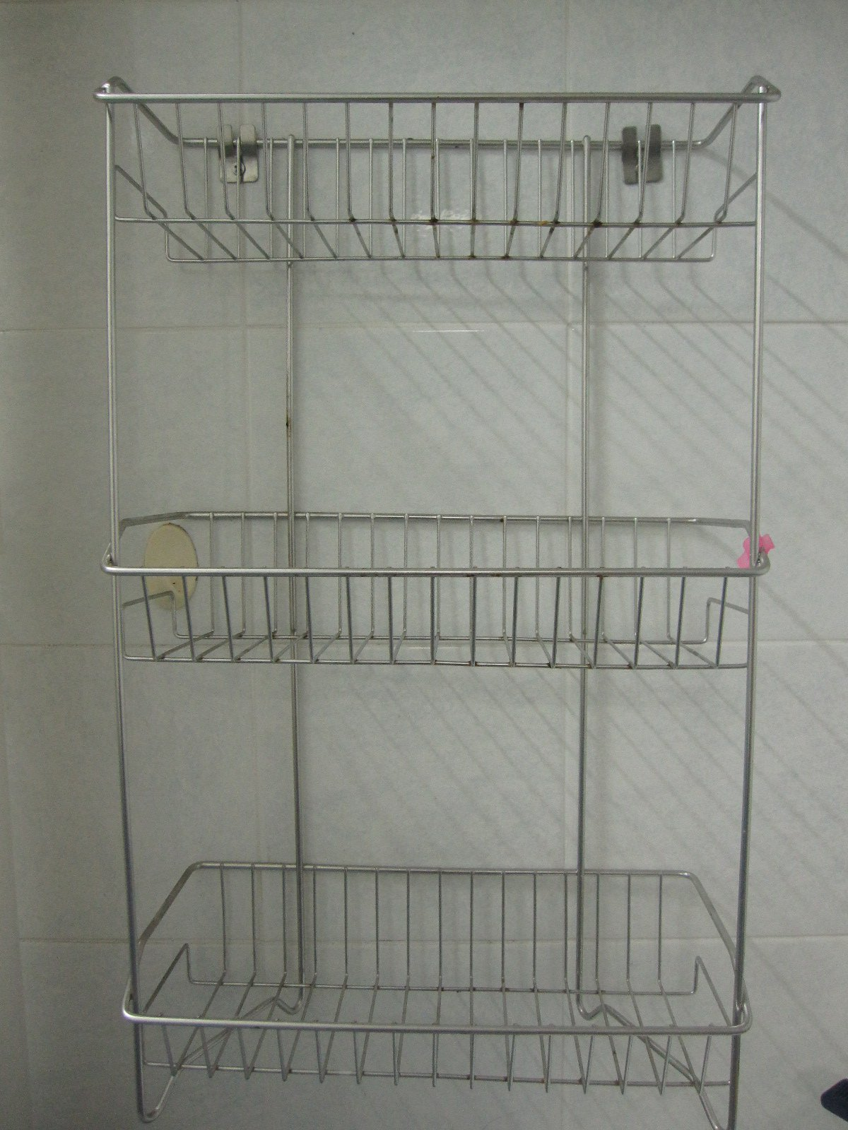 FOR SALE: Stainless Steel Bath Rack 2pcs