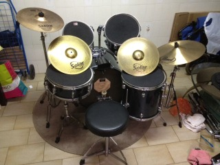 FOR SALE: WTS Pearl Target Drum Set @ $500