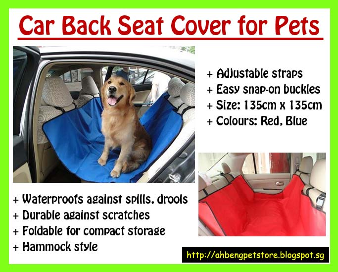 OTHER: Hammock Style Car Back Seat Cover for Dogs