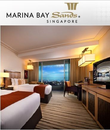 FOR SALE: Marina Bay Sands - 30% off for 2 Night Hotel Stay