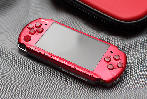 FOR SALE: WTS Brand New Sony PlayStation Portable PSP-3007 Carnival Red