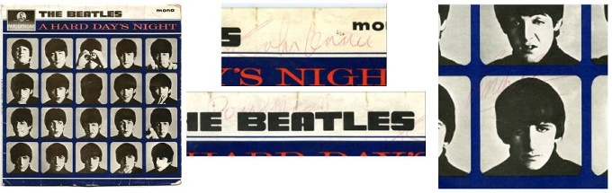 FOR SALE: The Beatles Autographs for Sale