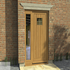 FOR SALE: Traditional Vertically Boarded Door With Single Sidelight