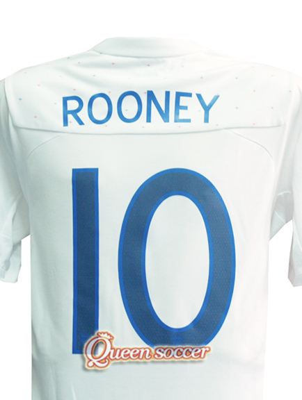 FOR SALE: Rooney 11/12 England Home Jersey Soccer Shirt NWT