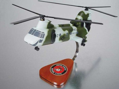 FOR SALE: CH-46 Sea Knight Marines Model Helicopter
