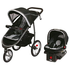 FOR SALE: Graco Fastaction Fold Jogger Click Connect Baby Travel System, Gotham, One Size