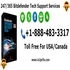 SERVICES: Dial +1-888-483-3317 for Bitdefender Tech Support