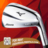 SERVICES: Golf Rentals: Mizuno MP-4 Irons for Rent