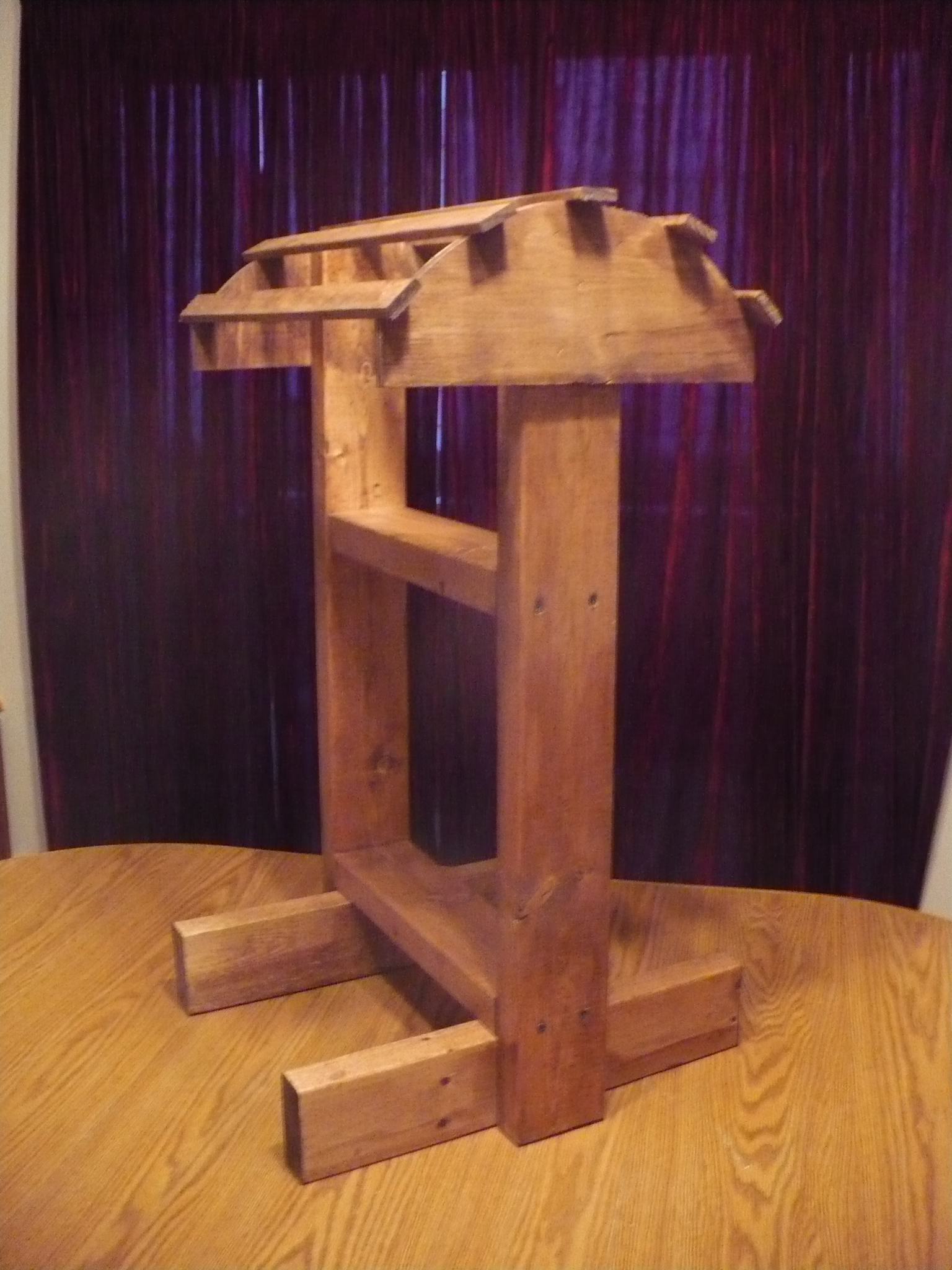 FOR SALE: Handmade Wooden Saddle Stands
