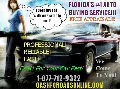 WANTED: Cash For Cars Online will pay the most cash for your car!